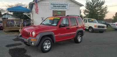 2004 Jeep Liberty Sport (Red)