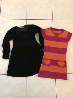 Girls Winter Dresses - Size 5-6- Thickson & Rossland, Whitby