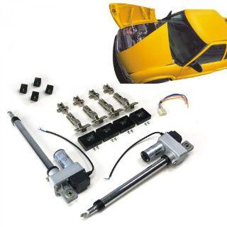 Buy Automatic Split Hood Kitsplit custom bracket hinge hardware kit reinforcement motorcycle in Portland, Oregon, United States, for US $402.89