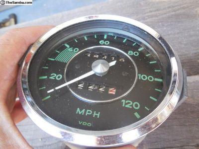 Porsche 356 Speedometer VDO Date Stamped 7/61