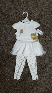 NWT Carters outfit 12 months