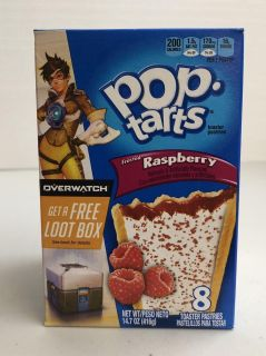 USA Food - Frosted Raspberry Pop Tarts