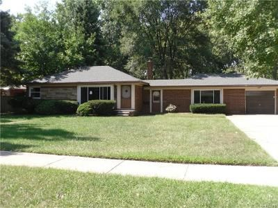 3 Bed 1 Bath Foreclosure Property in Warren, MI 48093 - Palomino Dr