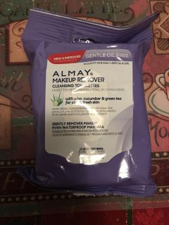 Almay Makeup Remover Cleansing Towlets NEW