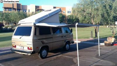 1985 VW Vanagon Westfalia Camper