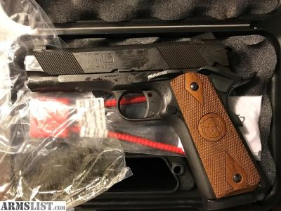 For Sale: Iver Johnson Hawk 1911A1 4.25 w/Bianchi Holster