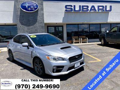 2016 Subaru WRX Premium (Ice Silver Metallic)