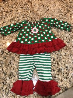 18m Christmas Outfit Mis Tee V-Us