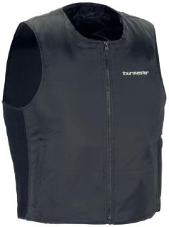 Purchase Tourmaster Synergy Black Large Heated Motorcycle Cold Weather Vest Liner Lrg motorcycle in Ashton, Illinois, US, for US $157.49