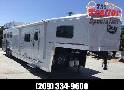 2019 Logan Coach 3 horse limited side load