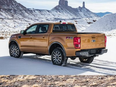 2019 Ford Ranger XLT (Oxford White)