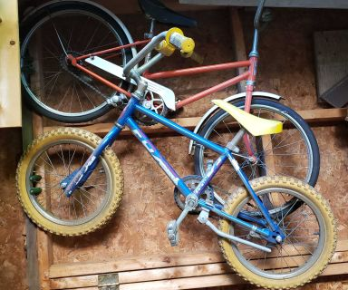 Bicycles - Assortment - Kids to Adult - for entire Family