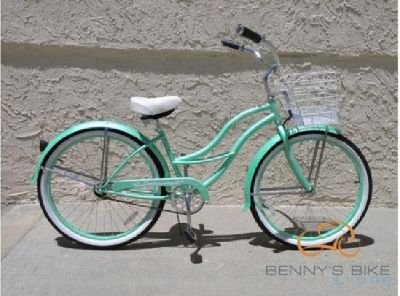 $50 Bicycle - Women's Turquoise Cruiser