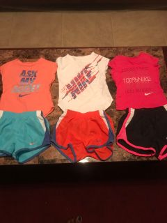 Nike outfits size 2t