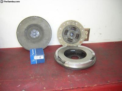 Porsche 915 ALUMINUM clutch assembly NOS