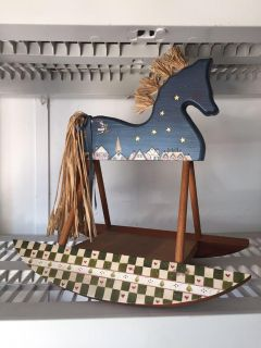 Rocking Horse - Hand Painted