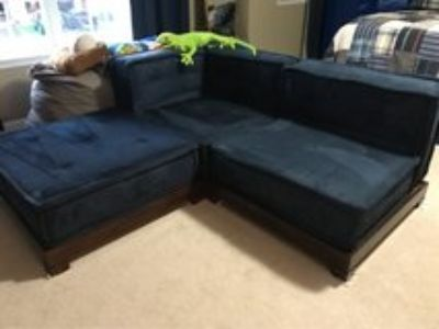 Pottery Barn Teen PBteen Cushy Sectional Set