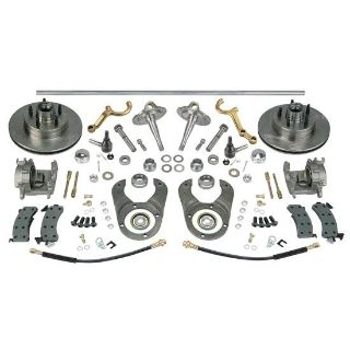 """Purchase New Chrome Steering/Brake Kit w/ Spindles/Dropped Arms, Ford 48"""" Axle 5 on 4.5"""" motorcycle in Lincoln, Nebraska, US, for US $729.99"""