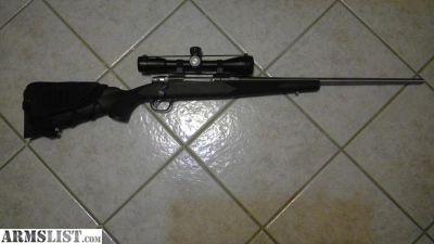 For Sale: Marlin XL7 bolt rifle, scope, ammo