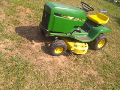 John Deere stx38 yellow deck