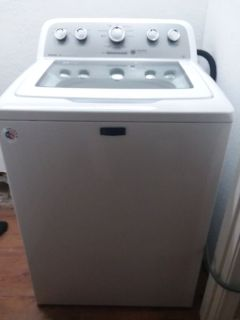 White Maytag top load washer