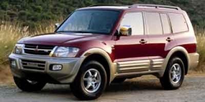 2002 Mitsubishi Montero Limited (Sudan Beige Metallic)