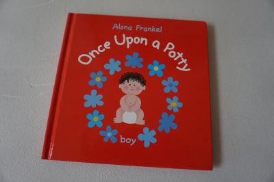 Hardcover- Boy Once Upon a Potty by Alona Frankel