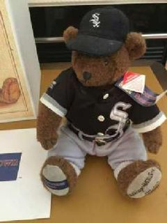 Chicago White Sox 1993 Liited Edition Cooperstown Bear with COA