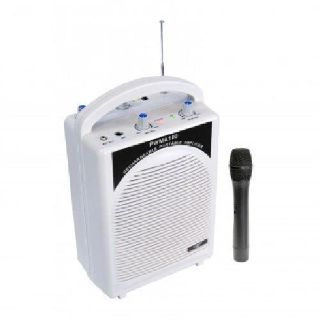 Pyle Rechargeable Portable PA System with Wireless MIC