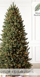 Balsasm Hill 7.5' Vermont White Spruce Artificial Christmas Tree