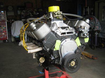 BBC Drag race engine 600+ HP