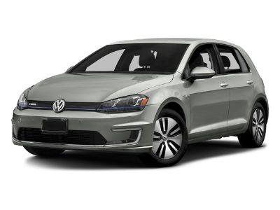 2016 Volkswagen e-Golf SEL Premium (Night Blue Metallic)