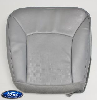Purchase 02-08 Ford E350 Bucket Boom Cargo Van Diesel Driver Bottom Vinyl Seat Cover GRAY motorcycle in Houston, Texas, US, for US $185.00