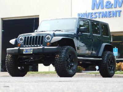 2008 Jeep Wrangler Unlimited X (Steel Blue Metallic Clear Coat)
