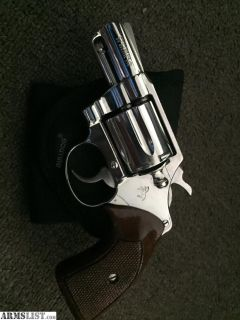 For Sale/Trade: Colt Cobra nickel .38 snub