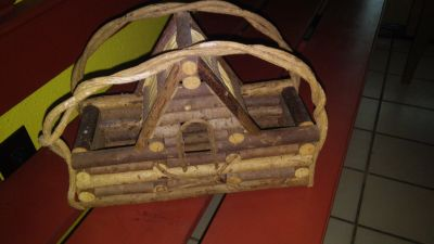 bird house/basket