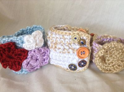 Handmade Crochet Baby items, hats, bag, and more