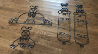 Chef Wrought iron lot