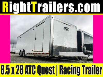 IN STOCK NOW!!! 8.5x28 ATC Quest | Race Car Trailer
