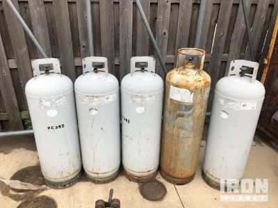 Lot of (5) Propane Tanks