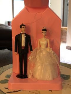 Hallmark keepsake ornament Barbie and Ken wedding day