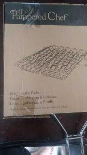 Pampered Chef BBQ Fexible Basket