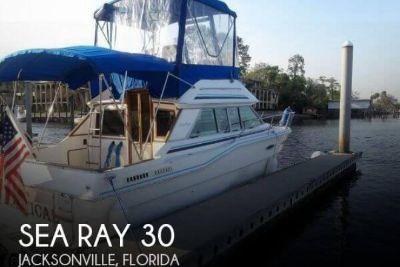 1986 Sea Ray Sedan Bridge SRV300