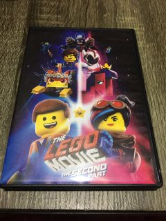 The LEGO Movie the second part Dvd No Holds