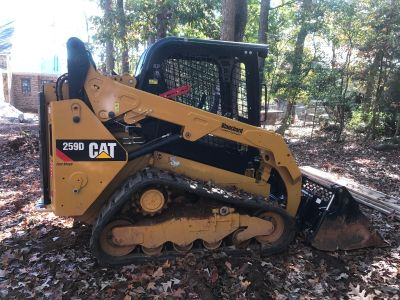 2016 CATERPILLAR 259D SKID STEERS