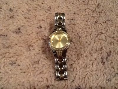 Woman's Two Tone GUESS Watch
