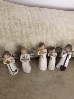 Willow tree dolls $7-$8 Each more in comments
