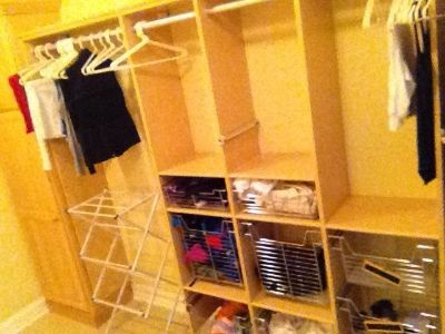 California Closet Laundry System (Light Maple Color)
