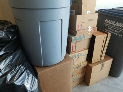 Moving Rugs, Storage Totes, Packing Paper