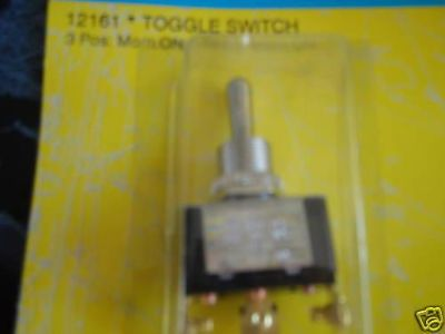 Purchase TOGGLE SWITCH SEACHOICE MOMENTARY 3 POSITION 12161 MOM/OFF/MOM BOAT PARTS SALE motorcycle in Osprey, Florida, US, for US $12.95